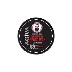 Agiva Moustache & Beard  Wax (50ml)