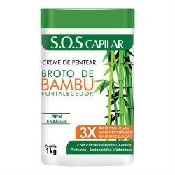 Hidran Broto de Bambou Renforcement Crème à Peigner (1Kg)