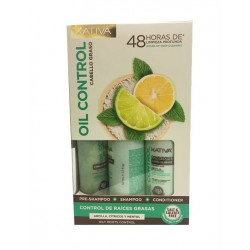 Kativa Oil Control Kit (3x50ml)