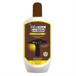 VitaBlack Loc System Curls Shampooing (400ml)