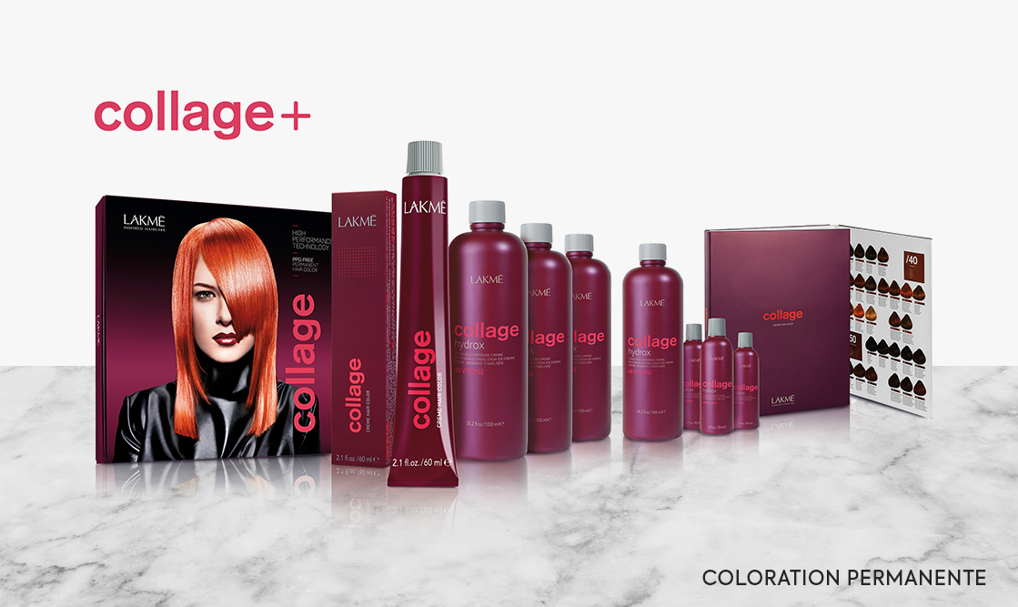 Lakme Collage. Coloration Permanente